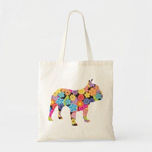 French Bulldog Canvas Bag