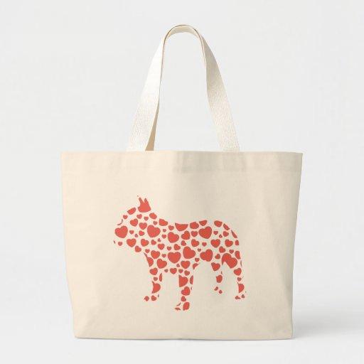 French Bulldog Canvas Bags