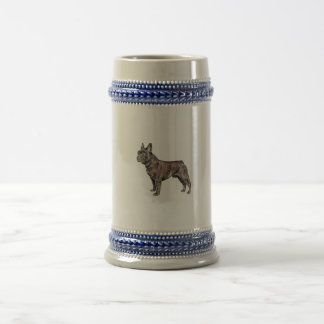 French Bulldog Beer Stein