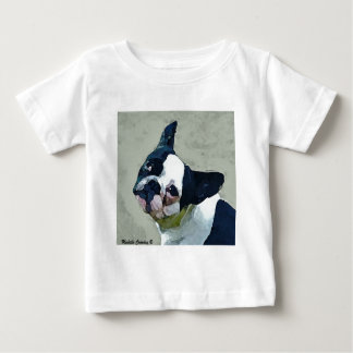 French Bulldog Black/White Baby T-Shirt