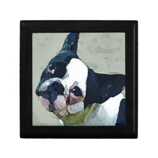 French Bulldog Black/White Gift Box