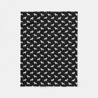 French Bulldog blanket - dog pattern