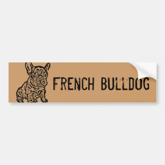 French Bulldog Bumper Sticker
