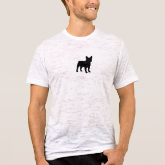 French Bulldog Burnout T-Shirt (Fitted)