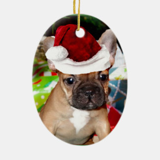 French Bulldog Ceramic Ornament