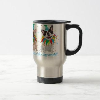 French Bulldog Clown - Support French Bulldog Club Travel Mug