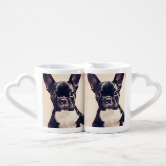 French bulldog coffee mug set