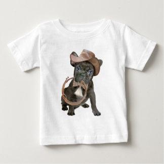 FRENCH BULLDOG country boy Baby T-Shirt