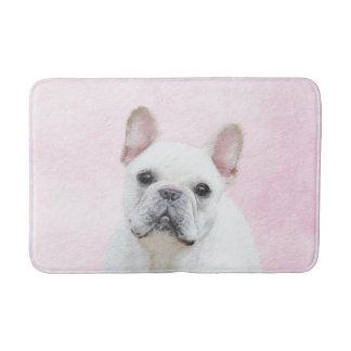French Bulldog (Cream/White) Bath Mat