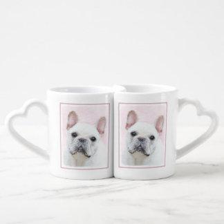 French Bulldog (Cream/White) Coffee Mug Set