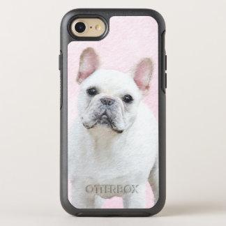 French Bulldog (Cream/White) Painting - Dog Art OtterBox Symmetry iPhone 8/7 Case