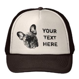 French Bulldog Custom Font Cap