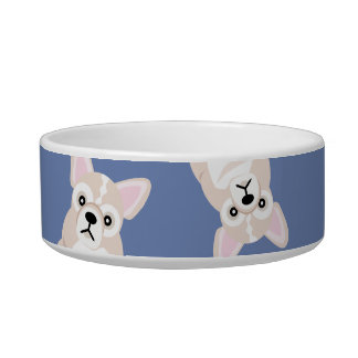 French Bulldog Cute Blonde Frenchie Pup Bowl