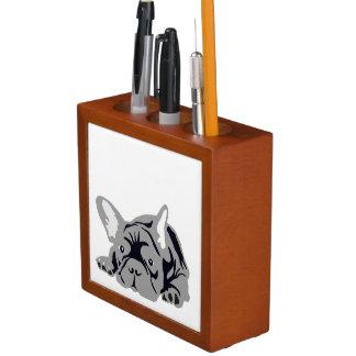 French Bulldog Desk Organisers