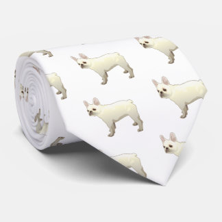 French Bulldog Dog Breed Illustration Silhouette Tie