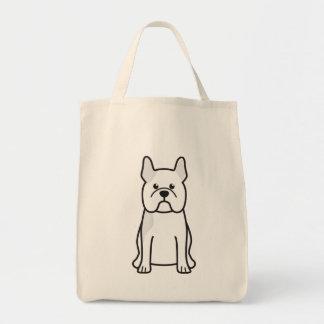 French Bulldog Dog Cartoon Tote Bag