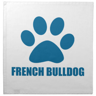 FRENCH BULLDOG DOG DESIGNS NAPKIN