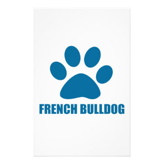 FRENCH BULLDOG DOG DESIGNS STATIONERY