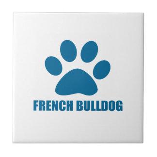 FRENCH BULLDOG DOG DESIGNS TILE