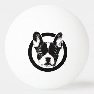 French Bulldog Dog Face Ping Pong Ball