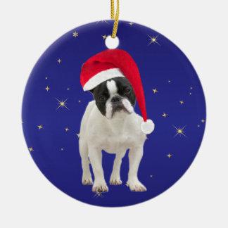 French Bulldog dog holiday decoration ornament