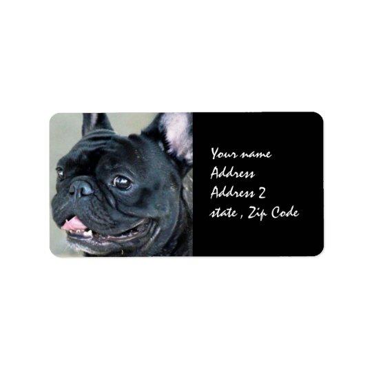 French Bulldog dog Label