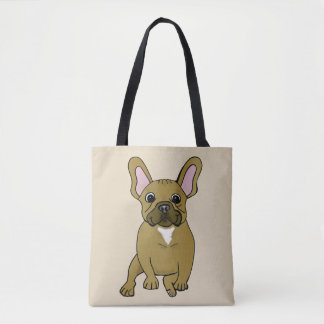 French Bulldog Dog Lover Tote Bag