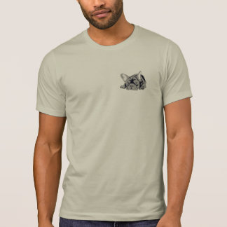 French Bulldog double print T-Shirt