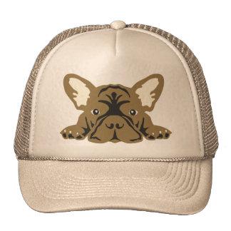 French Bulldog Face Cap