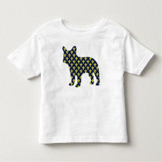 French Bulldog Fluer de Lis Tshirts