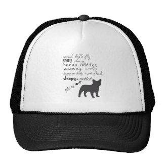 French Bulldog // Frenchie T Shirt Cap