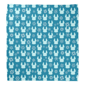 French Bulldog Holiday Bandana