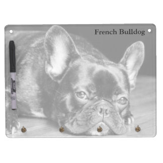 French Bulldog Horizontal Dry Erase Board