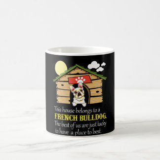 French Bulldog House Coffee Mug