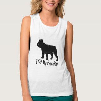 French Bulldog: I Love my Frenchie! Singlet
