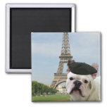 French Bulldog in Paris  magnet