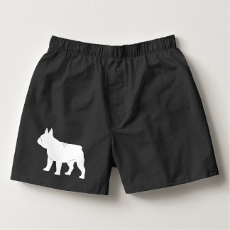 French Bulldog in Silhouette Boxers