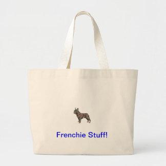 French Bulldog Jumbo Tote Bag