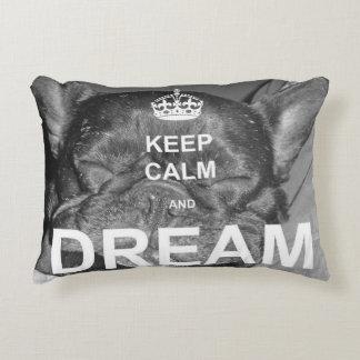 French Bulldog Keep Calm Dream Pillow