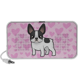 French Bulldog Love (add a pattern) iPod Speaker