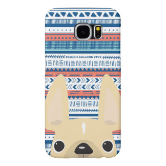 French Bulldog Love Geometric Case