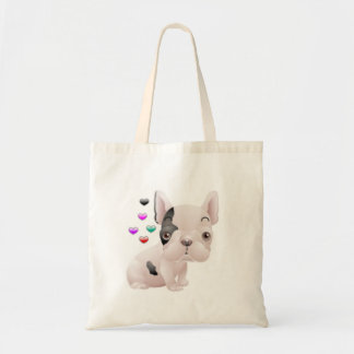 French Bulldog Love Bags