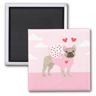 French Bulldog Magnet - frenchie magnet