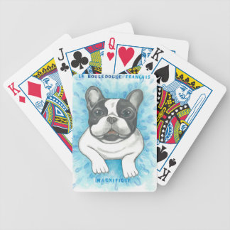 French Bulldog Magnifique Playing Cards