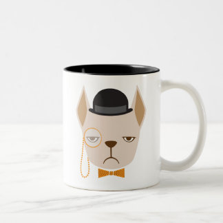 French Bulldog Mean Mug Mug