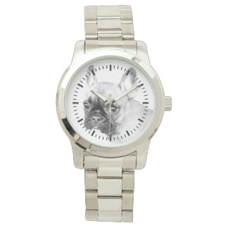 French Bulldog Men's Watch