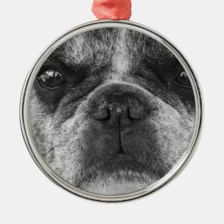 french-bulldog metal ornament