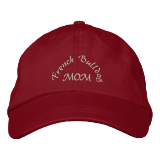 French Bulldog Mom Gifts Embroidered Baseball Cap