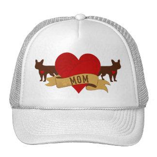 French Bulldog Mom [Tattoo style] Trucker Hats