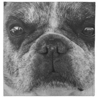 french-bulldog napkin